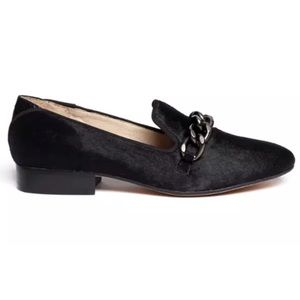 Sam Edelman Kollins Chain Calf Hair Loafers